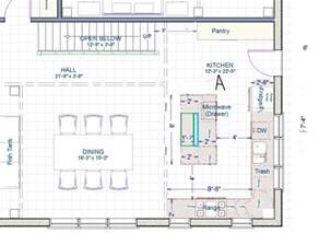 Standard Kitchen Island Size Help With Kitchen Size And Layout