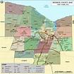 Monroe County Map, Map of Monroe County NY