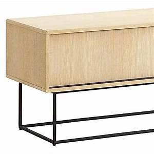 Meuble Tv Buffet : virka buffet bas meuble tv portes coulissantes woud ~ Teatrodelosmanantiales.com Idées de Décoration