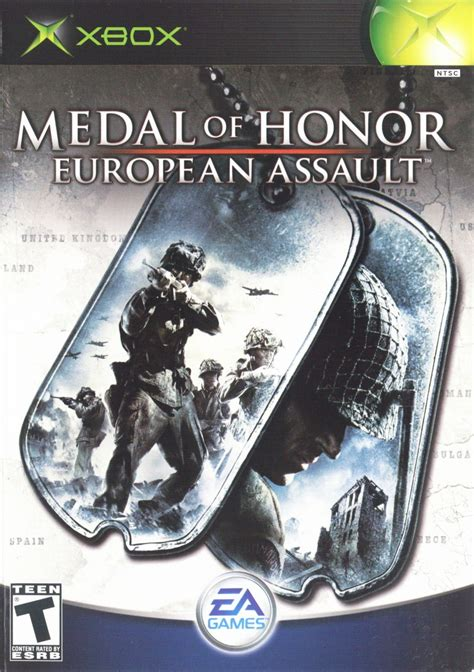 medal  honor european assault  xbox  mobygames