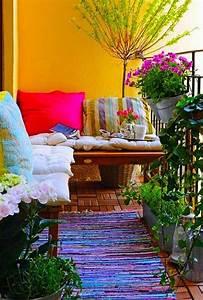 30, Beautifully, Boho, Chic, Balcony, Ideas
