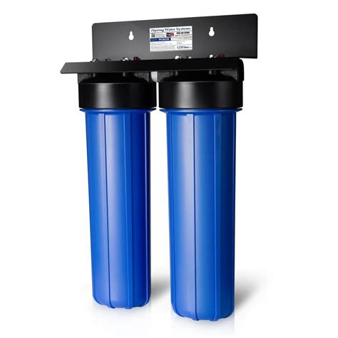 water filtration ispring littlewell 2 stage 80 000 gal big blue whole