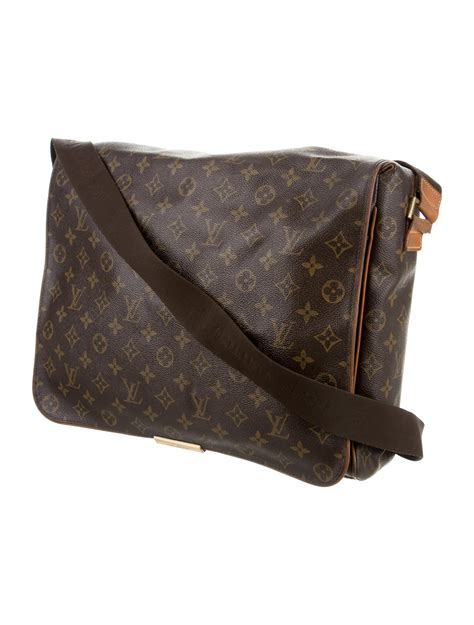 louis vuitton monogram abbesses messenger bag handbags lou  realreal