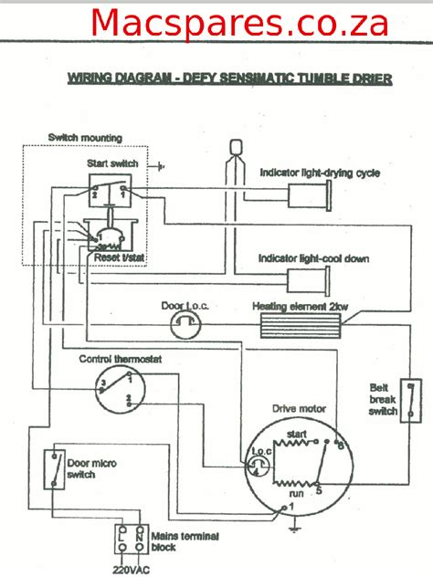 electric dryer wiring diagram wiring diagram and schematics