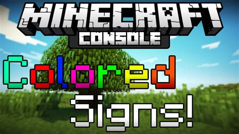 how to make colored signs in minecraft how to make colored text in minecraft ps3 coloring pages