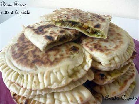 idee cuisine rapide recette de pains farcis cuits à la poêle idéal pr le ramadan