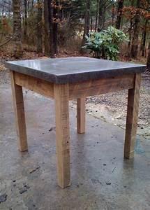 Concrete end table Furniture Design Pinterest