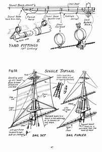 Mini-brig Project  Rigging  U0026 Sails  Step 4