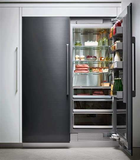 drrrap dacor modernist  column fridge panel