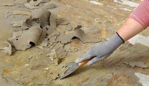 remove carpet glue  concrete floor dave