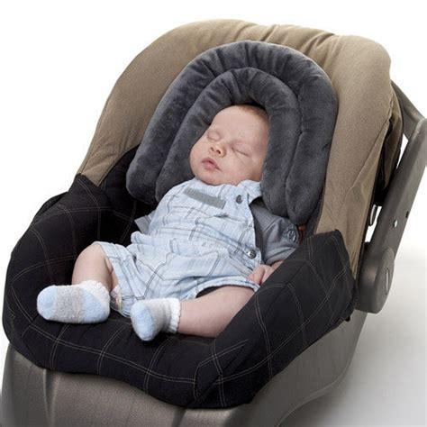 coussin reducteur siege auto cale tête 2 en 1 reducteur bébé pour poussette ou siege auto
