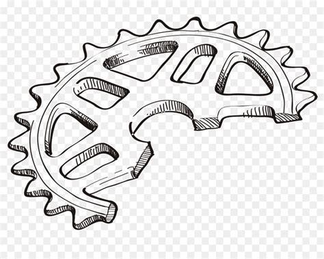 Rullo Catena Pignone Disegno Della Bicicletta Del