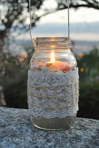 Diy, Mason, Jar, Lanterns