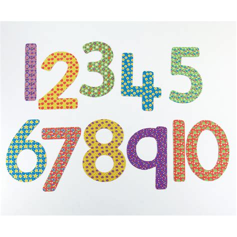Buy Giant Outdoor Patterned Numbers 110 Tts