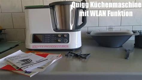 Quigg / Ambiano Aldi Küchenmaschine Mit Wlan Funktion Zubehör 2017