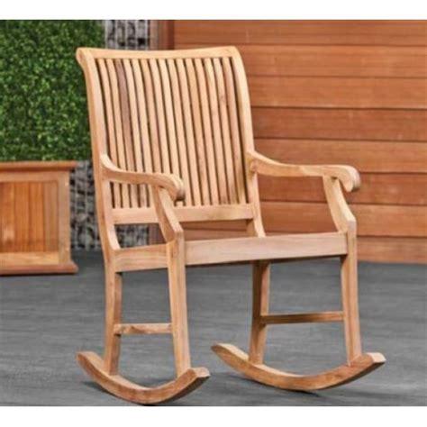 chaise à bascule pas cher chaise teck pas cher great fauteuil jardin lot de chaises
