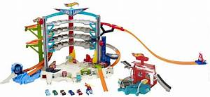 $74 - Hot Wheels Ultimate Garage Playset With Car Wash
