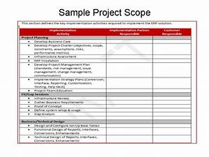defining scope for erp implementations erp the right way With erp documentation sample