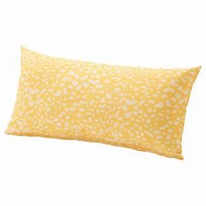 Coussin Rectangulaire Ikea : gren coussin ext rieur jaune blanc 59x30 cm ikea ~ Melissatoandfro.com Idées de Décoration