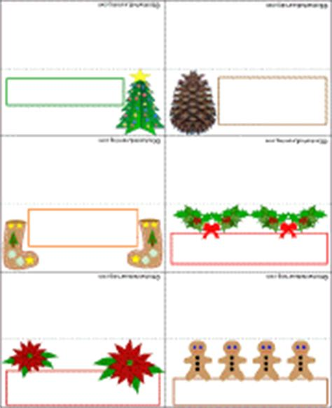Place Card Templates Freechristmas Template Card Template Printable New Calendar Template Site