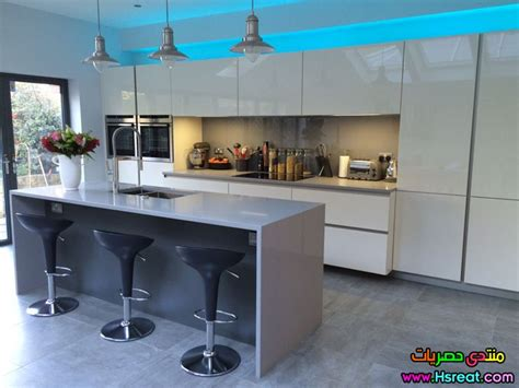 german design kitchens ديكور مطابخ المانية بيضاء جديدة وجميلة وعصرية للبيت العربي 1208