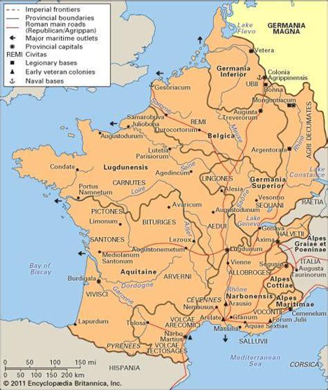 Gaul Ancient Region Europe