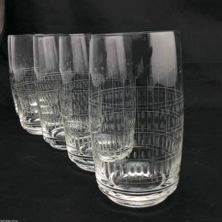 Wasserglaser Kristall by Glas Kristall Antiquit 228 Ten
