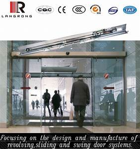 Automatic Sliding Door Closer And Opener Machine Set