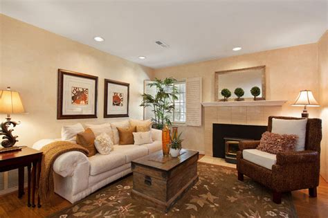 Staging ideas Traditional Living Room San Francisco