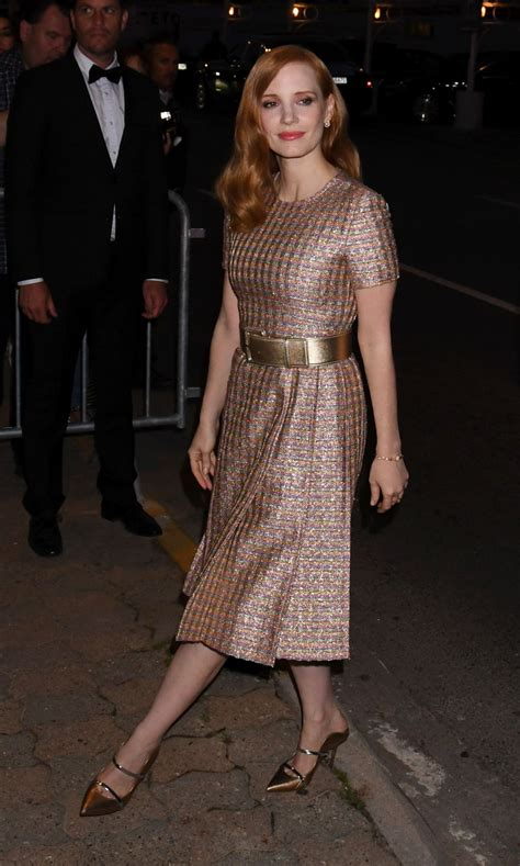 cannes cuisine chastain arriving at chanel dinner at tetou