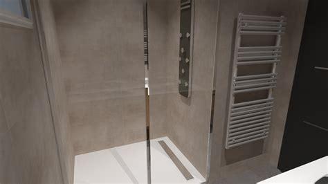 cuisine style industriel salle de bain bois beige blanc gris avec italienne