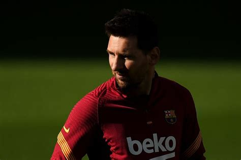 Lionel Messi among three Barcelona first-team stars ...