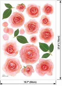 stickers fille rose maisonreveclub With beautiful rose decals for walls