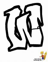 Graffiti Letters Pages Letter Coloring Street Yescoloring Grafit Colouring Boys sketch template