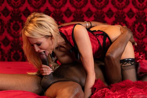 Glamorous Blonde Milf In Black Stockings Sucks And Fucks Bbc Photos Jessica Drake Sean