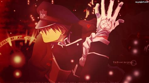 roy mustang wallpaper zerochan anime image board