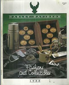 1988 Harley Davidson Fashions And Collectibles Catalog