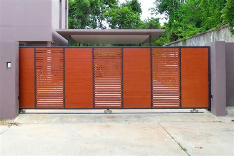 Model pagar tembok batu alam. 35 Model Pagar Rumah Minimalis Sederhana dan Elegan - Sejasa.com