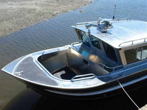 Used Fishing Boat With Cabin by 27 Nitinat Aluminum Cabin Boat By Silver Streak Boats