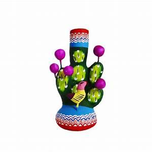 Arbre De Vie Deco : mini arbre de vie cactus d co mexicaine en terre cuite casa frida ~ Teatrodelosmanantiales.com Idées de Décoration