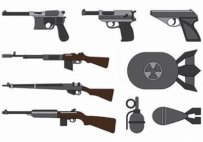 War Weapons Guerra Mundial Segunda Clipart Vecteezy