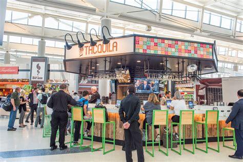 Ewr Terminal B Map Food