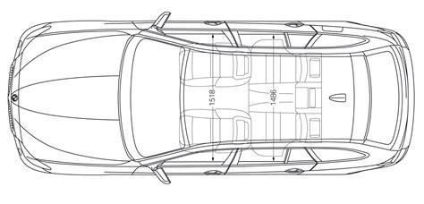 outline drawing  drift cars   clip art
