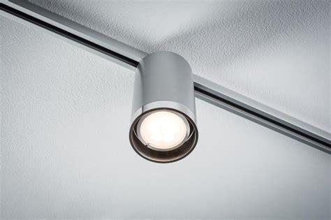 eclairage sur rail plafond eclairage tableau eclairage sur rail plafond led spot 6 5w paulmann