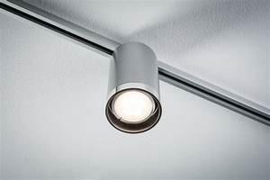Repartition Spot Led Plafond : eclairage tableau eclairage sur rail plafond led spot tube 6 5w paulmann ~ Melissatoandfro.com Idées de Décoration