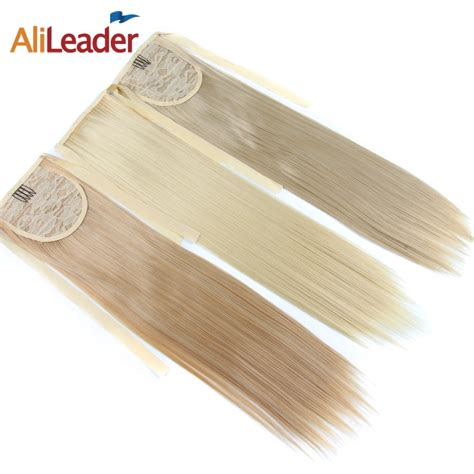 Alileader False Hair Tail Hairpiece Ponytail Synthetic