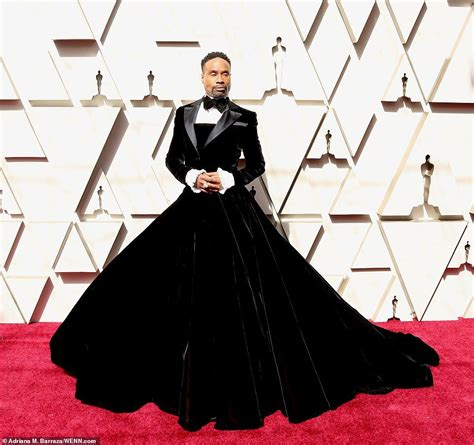 Billy Porter Awards Red Carpet Oscar Dresses
