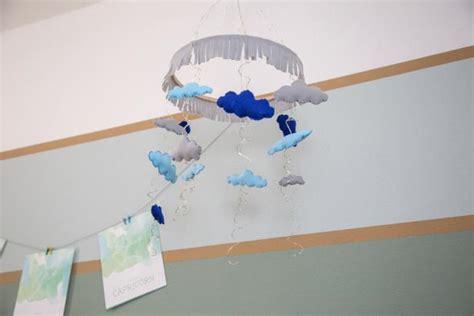 illuminated rain cloud mobile   babys