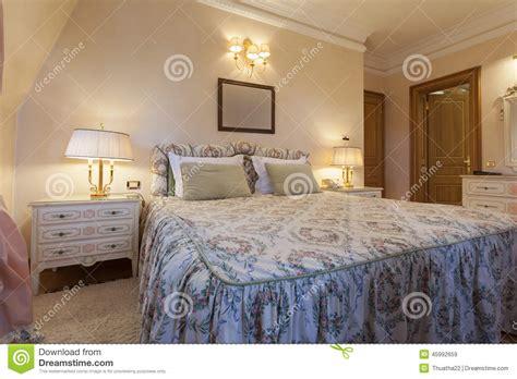 da letto di lusso interno di una da letto classica di stile in villa