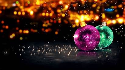 Christmas Merry Happy Wallpapers Glitter Background Ultra
